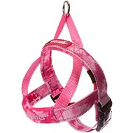 EzyDog Quick Fit Dog Harness, Pink Camo, Small