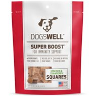 Dogswell Super Boost Squares Chicken with Cranberry Recipe Dog Treats, 5-oz bag