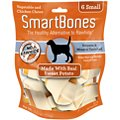 SmartBones Small Sweet Potato Chews Dog Treats