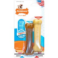 Nylabone Petite Twin Pack Puppy Chew Toy
