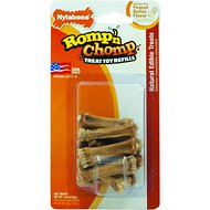 Nylabone Romp 'n Chomp Mini Soupers Dog Treat Refills, 9-count