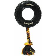 Mammoth TireBiter Tire & Rope Dog Toy, Large