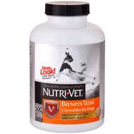 Nutri-Vet Garlic Flavored Brewers Yeast Dog Chewables, 500-count