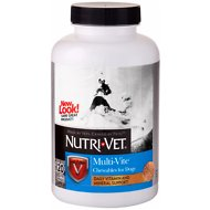 Nutri-Vet Multi-Vite Chewable Dog Supplement, 120 count
