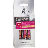 Nutri-Vet Food Transition Support for Dogs, 7-count