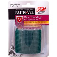 Nutri-Vet Assorted Color Bitter Pet Bandage, 2-in