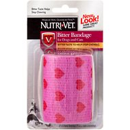 Nutri-Vet Assorted Color Bitter Pet Bandage, 3-in