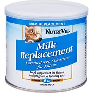 Nutri-Vet Kitten Milk Replacement Powder, 6-oz