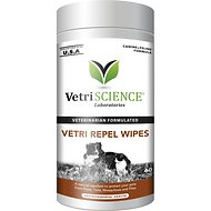 VetriScience Vetri-Repel Flea & Tick Wipes, 60 count