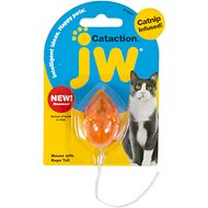 JW Pet Cataction Mouse With Bell & Tail Cat Toy