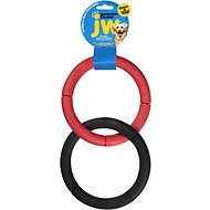 JW Pet Invincible Chains Dog Toy, Color Varies, Double