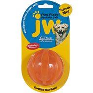 JW Pet Play Place Squeaky Dog Ball, Color Varies, Medium
