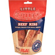 Grillerz Little Grillerz Beef Ribs Dog Treats, 4 count