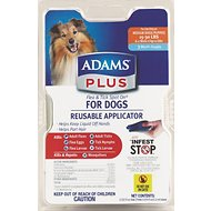 Adams Plus Flea & Tick Spot On With Applicator for Dogs (3-Month Supply), Medium