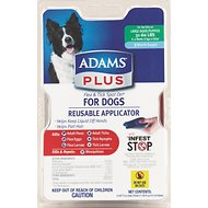 Adams Plus Flea & Tick Spot On With Applicator for Dogs (3-Month Supply), Large