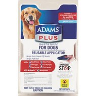 Adams Plus Flea & Tick Spot On With Applicator for Dogs (3-Month Supply), X-Large