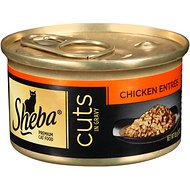 Sheba Premium Chicken Cuts in Gravy Entree Grain-Free Canned Cat Food, 3-oz, case of 24