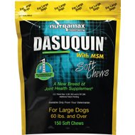 Nutramax Dasuquin with MSM Soft Chews Joint Health Large Dog Supplement, 150 count