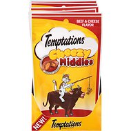 Temptations Cheezy Middles Beef & Cheese Flavor Cat Treats, 2.47-oz bag