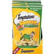Temptations Cheezy Middles Chicken & Cheese Flavor Cat Treats, 2.47-oz bag