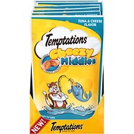 Temptations Cheezy Middles Tuna & Cheese Flavor Cat Treats, 2.47-oz bag