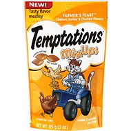 Temptations Mixups Farmer's Feast Cat Treats, 3-oz bag