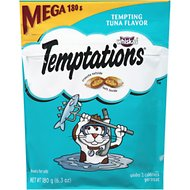 Temptations Tempting Tuna Flavor Cat Treats, 6.3-oz bag
