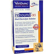 Virbac Rebound OES Oral Electrolyte Solution for Dogs & Cats, 32-oz bottle