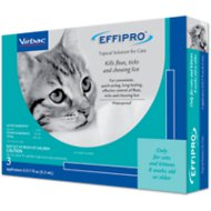 Virbac Effipro Topical Solution for Cats, 3 treatments