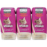 Whiskas Cat Milk, 6.75-oz carton, 3-pack