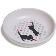Van Ness Ecoware Non-Skid Cat Dish, Assorted Colors, 8-oz