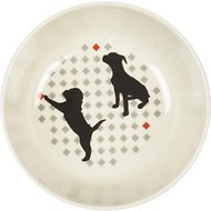 Van Ness Ecoware Non-Skid Dog Dish, Cream, 16-oz