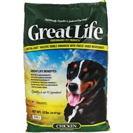 Great Life Chicken Dry Dog Food, 33-lb bag