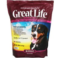 Great Life Buffalo Dry Dog Food, 8-lb bag
