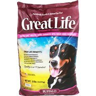Great Life Buffalo Dry Dog Food, 33-lb bag