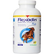 Vetoquinol Flexadin Plus Joints & Flexability Chewable Tablets Dog Supplement