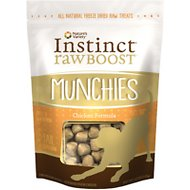 Instinct by Nature's Variety Raw Boost Munchies Chicken Formula Freeze-Dried Dog Treats, 4-oz bag