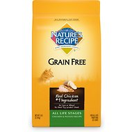 Nature's Recipe Grain-Free All Life Stages Chicken & Potato Recipe Dry Cat Food, 5-lb bag