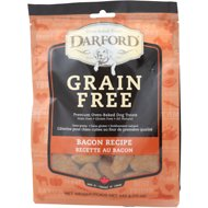 Darford Tasty Bacon Flavor Grain-Free Dog Treats, 12-oz bag