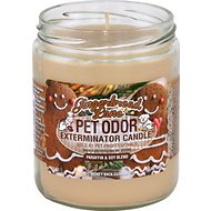 Pet Odor Exterminator Gingerbread Lane Deodorizing Candle, 13-oz jar