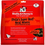Stella & Chewy's Stella's Super Beef Meal Mixers Freeze-Dried Dog Food, 18-oz bag