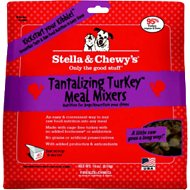 Stella & Chewy's Tantalizing Turkey Meal Mixers Freeze-Dried Dog Food, 18-oz bag