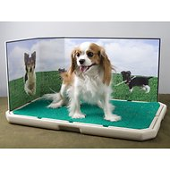 Piddle Place Protective Splash Guard for Dogs & Cats