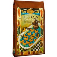 Lotus Oven-Baked Duck Small Bites Recipe Grain-Free Dry Dog Food, 10-lb bag