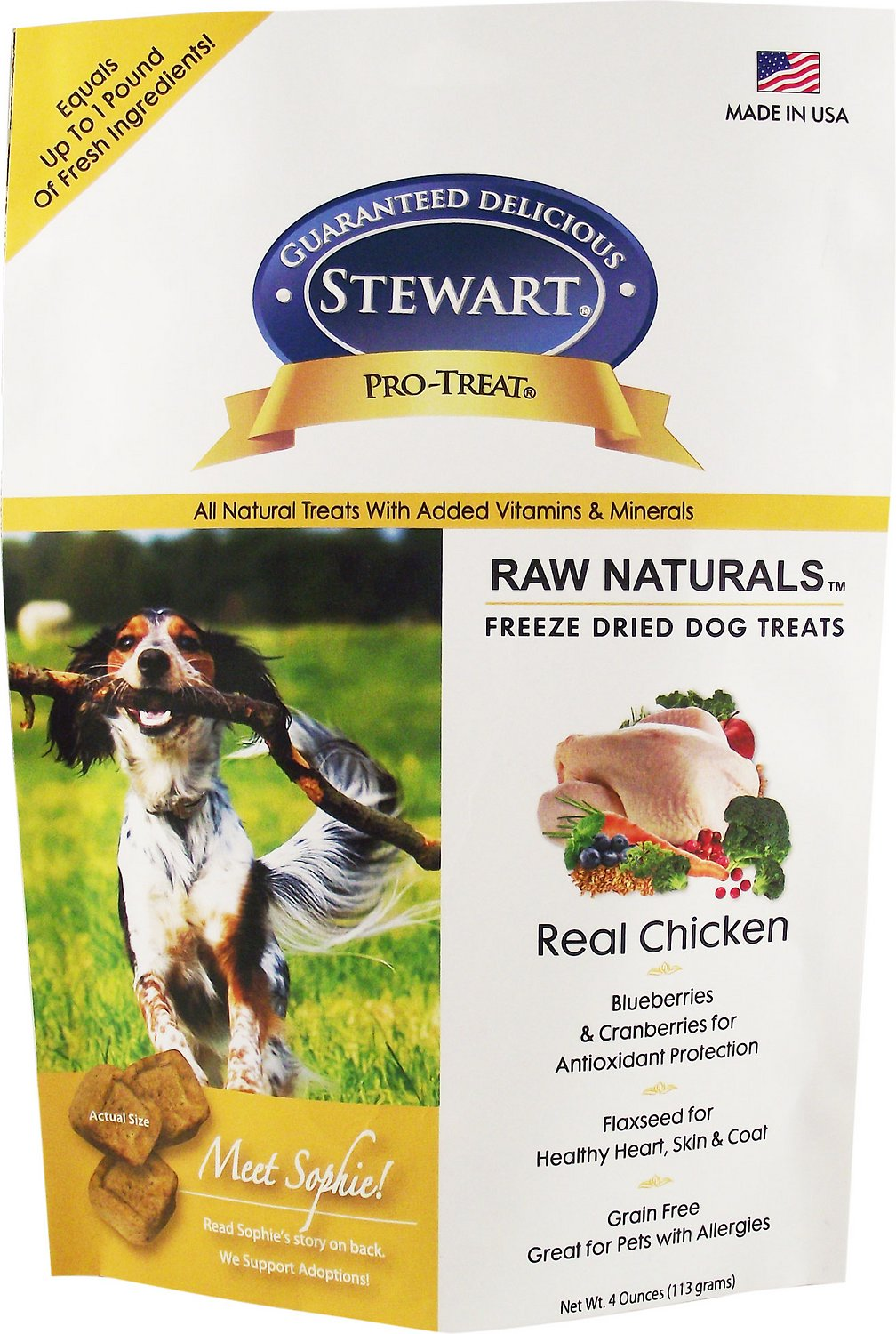 Stewart Pro Treat Raw Naturals