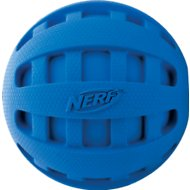 Nerf Dog Checker Squeak Ball Dog Toy, Color Varies, 2.5-in