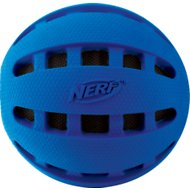 Nerf Dog Checker Crunchable Ball Dog Toy, 2.5-inch