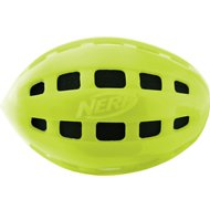 Nerf Dog Crunch & Squeak Football Dog Toy, Color Varies, 4-inch