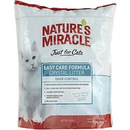 Nature's Miracle Just For Cats Easy Care Crystal Cat Litter, 8-lb bag