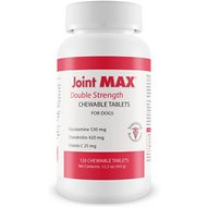 Joint MAX Double Strength Chewable Tablets for Large Dogs, 120 count